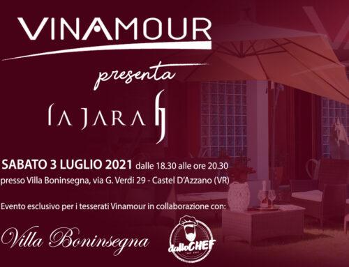 Primo evento ufficiale Vinamour