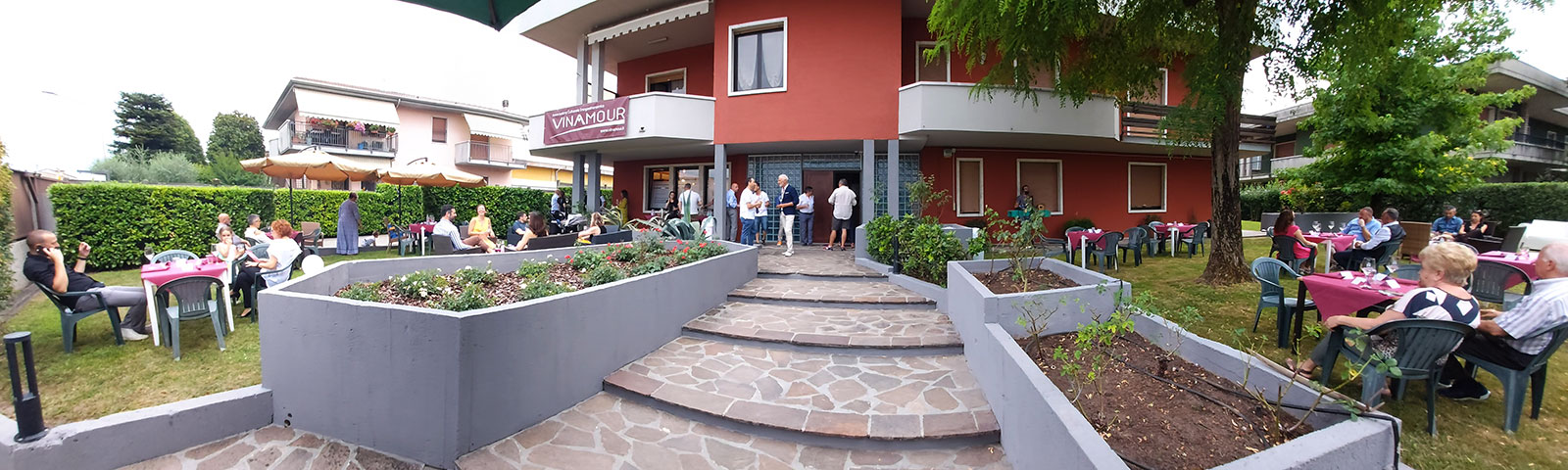 Villa Boninsegna location del primo evento Vinamour