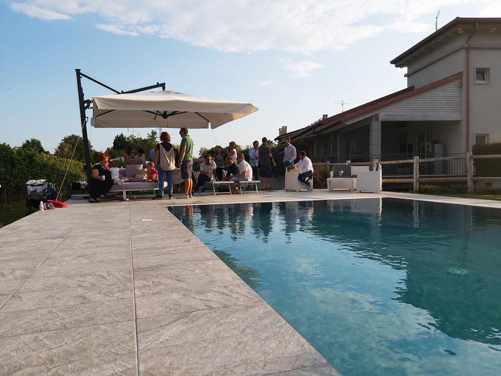 Domenica 5 settembre evento Vinamour presso La Torretta aperitivo a bordo piscina