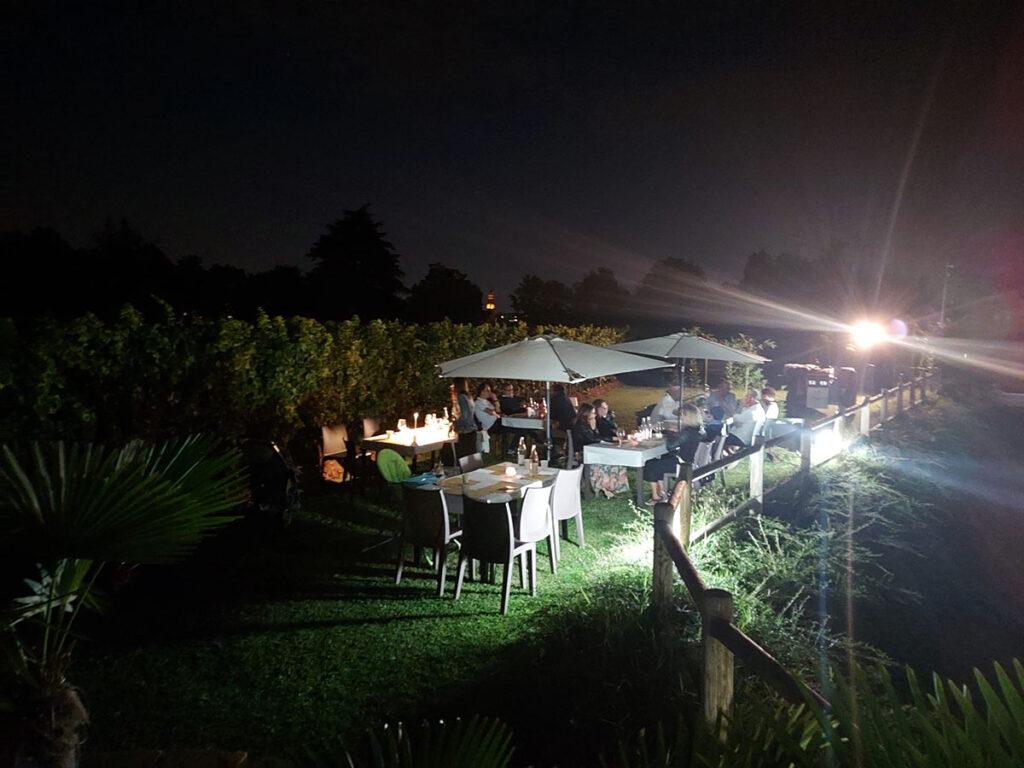 Domenica 5 settembre evento Vinamour presso La Torretta degustazione in vigna